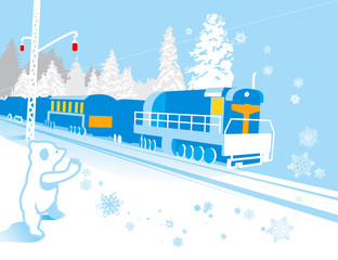 illustration_winter_railway