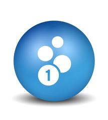 Cash Icon - blue