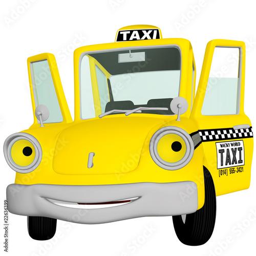 Taxi Cab Doors Open  sc 1 st  Fotolia.com & Taxi Cab Doors Open