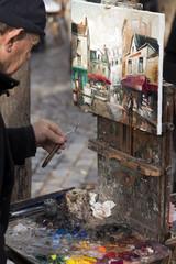 Künstler Montmatre Paris