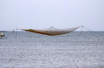 Papiers peints Pont Vietnamese fishing nets