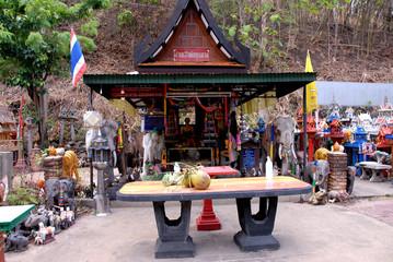 faith fo Thais people life