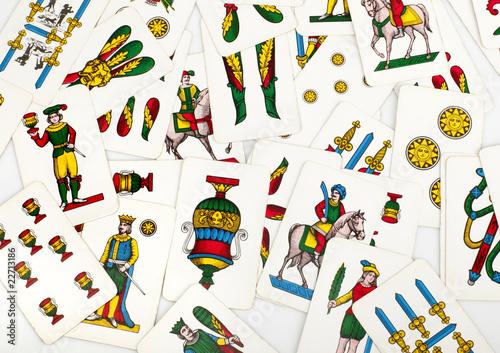 Gioco scopa con carte napoletane da scaricare