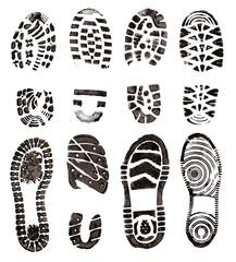 Shoes prints