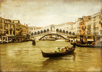 amazing Venice -artistic toned picture