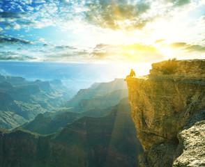 Papiers peints Jaune de seuffre Grand Canyon