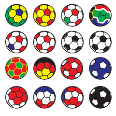 Football teams/ squadre calcio 2010