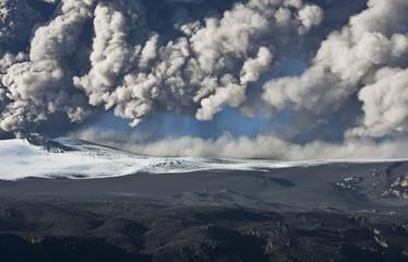 Eyjafjallajokull volcano Fototapete