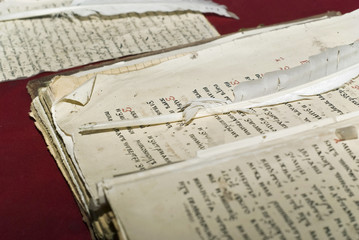 Documents of old russian right.