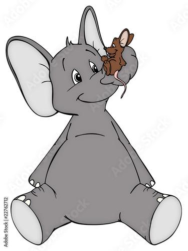 elefant maus freunde feinde frieden stockfotos und lizenzfreie bilder auf. Black Bedroom Furniture Sets. Home Design Ideas