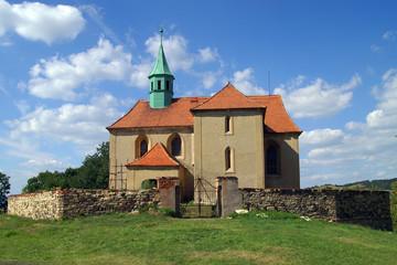 St.-Jakobs-Kirche in Bedrichov-Svetec