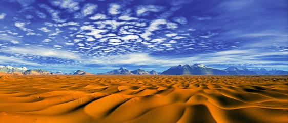 Panorama Wüste