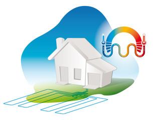 consommation geothermique dans les eco habitations