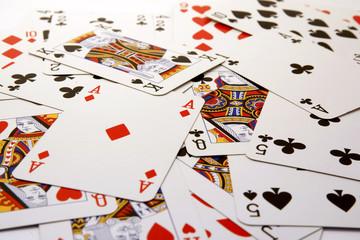 poker card background