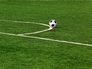 Ball  football  leather