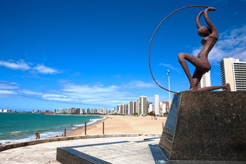 Wall Mural - Fortaleza waterfront