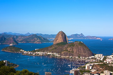 botafogo and the sugar loaf mountain