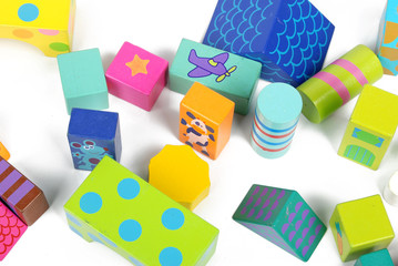 assorted styles and colors of building blocks