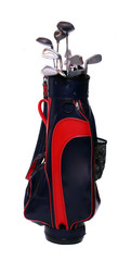 Two color golf clubs bag