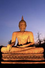 Keuken foto achterwand Boeddha Sukhothai historical park in Thailand