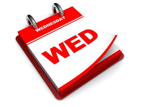 wednesday calendar