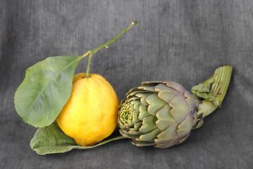 limoni e carciofi