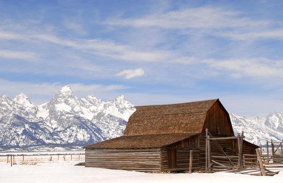 Moulton Barn in Teton National Park