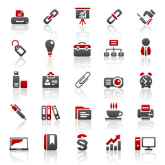 red business icons - set 3