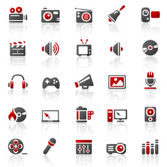 rot entertainment icons - set 11