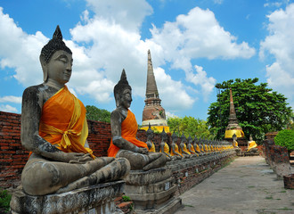 Image of Buddha at Ayutthaya, Thailand