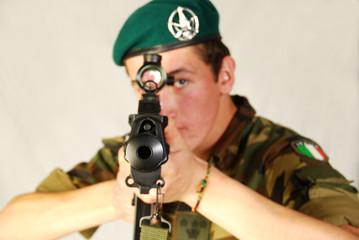 Soldato d'attacco