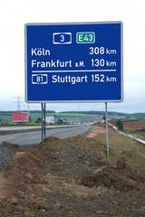 Autobahnneubau für den Fernverkehr