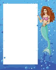 Mermaid showing menu