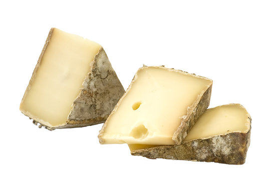 French cheeses – Crottin de Chavignol and Tomme