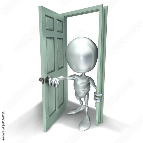Elliott 046 porte entr sortie ouvrir fermer photo for Ouvrir une porte avec radio