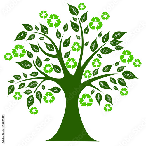 """""""Recycling tree"""" Stock photo and royalty-free images on ..."""