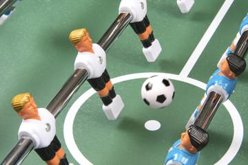 Start of play, soccer ball