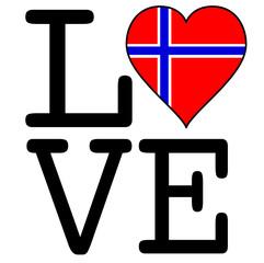I Love Norvege