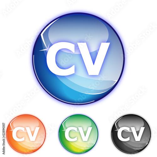 u0026quot picto curriculum vitae - icon cv