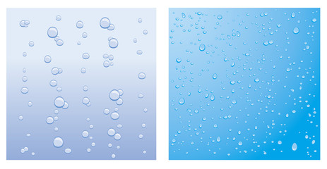 Bubbles and droplets