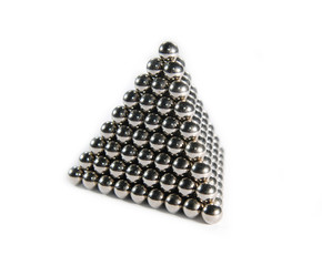Bearings stacked pyramid