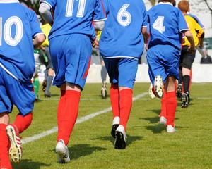 de jeunes footballeurs