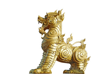 Golden Singha lion