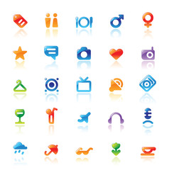 Perfect icons for travel