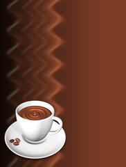 Caffè Menu-Coffe Menu Background-3d