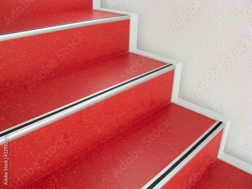 rote treppe treppenstufen stockfotos und lizenzfreie bilder auf bild 22932173. Black Bedroom Furniture Sets. Home Design Ideas