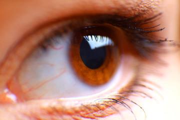 beautiful hazel eye.