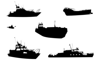 Sentry boat, the barge, launch, inflatable boat, steamship