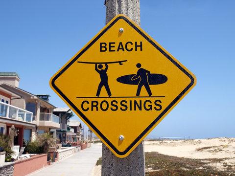 California Beach Crossing
