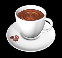 Caffè in Tazzina-Cup of Coffee-3d-2